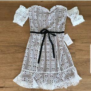 For love and Lemons Dakota Mini Dress